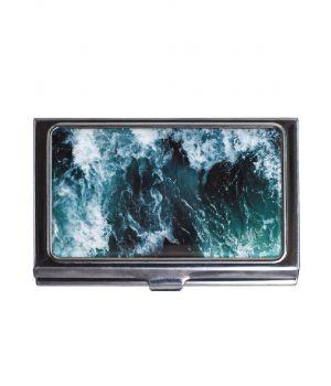 Картхолдер DevayS Maker DM 01 Морські хвилі синій (25-08-466)