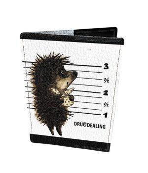 Дизайнерська шкіряна обкладинка на паспорт, 77196