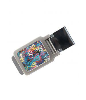 Зажим для денег DevayS Maker DM 01 Разноцветные Сердца разноцветный (34-08-465)