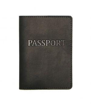 Дизайнерська шкіряна обкладинка на паспорт, 77207