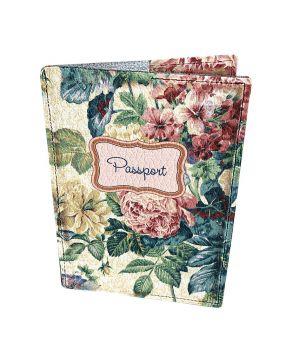 Дизайнерська шкіряна обкладинка на паспорт, 77258