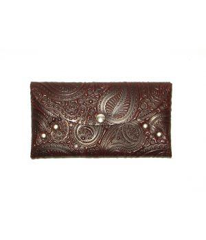 Гарний жіночий шкіряний кошелек гаманець, 76878
