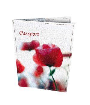 Дизайнерська шкіряна обкладинка на паспорт, 77249