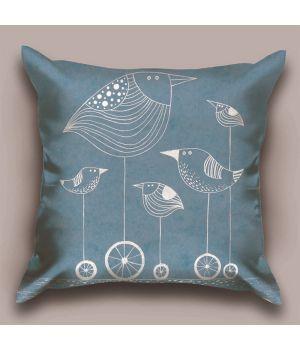 Декоративная подушка Птичка G