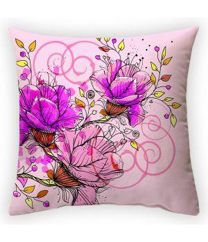 Декоративная подушка Цветочная фантазия-3