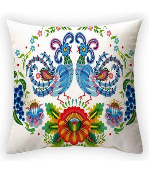 Декоративная подушка Півники-2