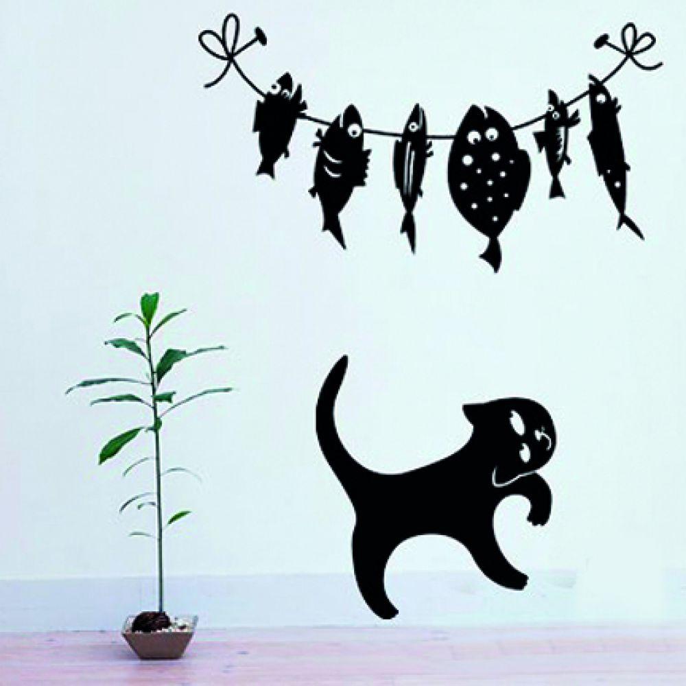 Лет, черно белые рисунки смешные на стене