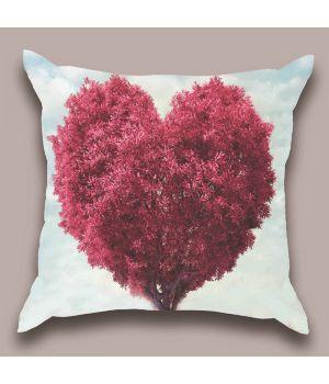 Декоративная подушка Цветение сердца