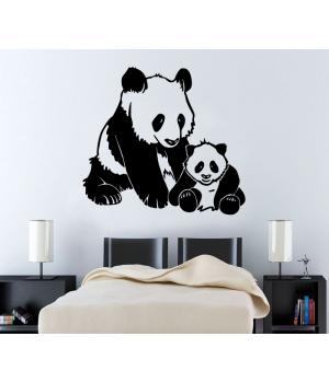 Панды. Pandas sticker
