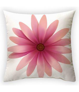 Декоративная подушка Розовые волшебные лепестики