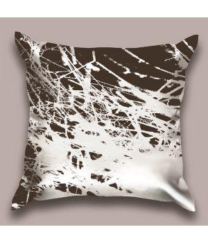 Декоративная подушка Паутиновый контраст