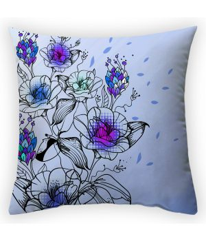 Декоративная подушка Цветочные мотивы-1