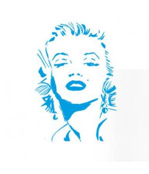 Виниловая наклейка в интерьер Мэрилин Монро