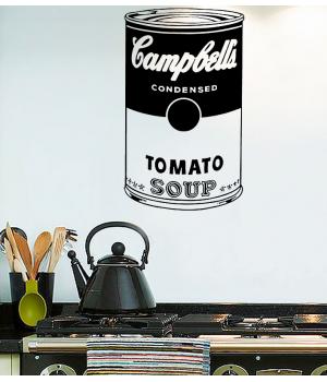 Суп Кемпбелл.Campbell Soup sticker