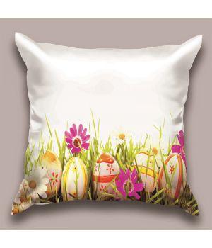 Декоративная подушка Пасхальное поле