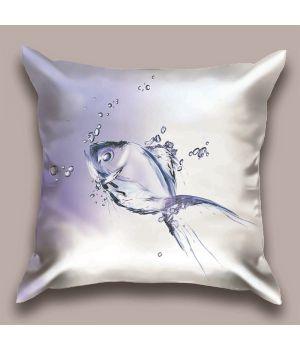 Декоративная подушка Рыбка - Water