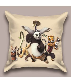Декоративная подушка Панда Кунг-фу-2