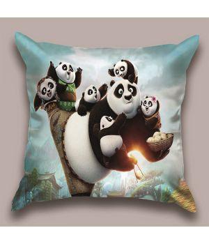 Декоративная подушка Панда Кунг-фу-3