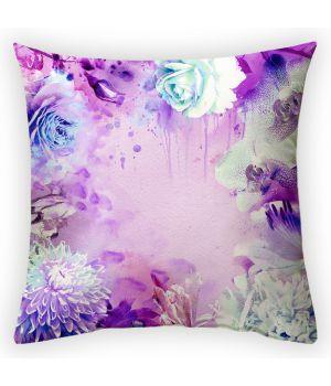 Декоративная подушка Цветочная композиция-1