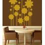 Виниловая наклейка на стену Цветы Арт