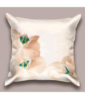 Декоративная подушка Орхидея в лучах заката