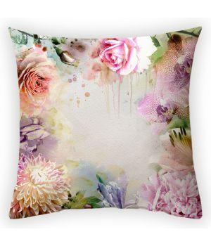 Декоративная подушка Цветочная композиция-2