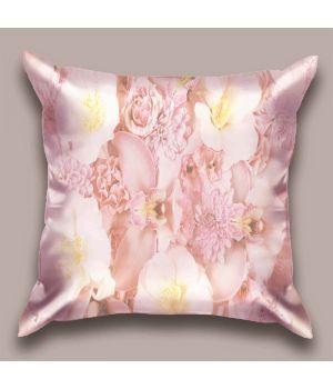 Декоративная подушка Розовый букет