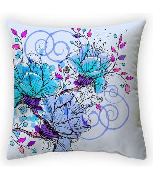 Декоративная подушка Цветочная фантазия-1