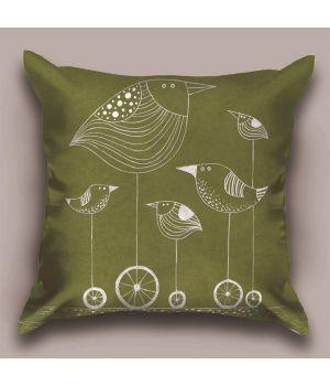 Декоративная подушка Птичка Z