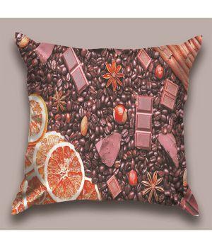 Декоративная подушка Шоколадный рай
