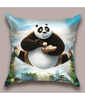 Декоративная подушка Панда Кунг-фу-1