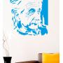 Виниловая наклейка на стену Эйнштейн.Einstein sticker
