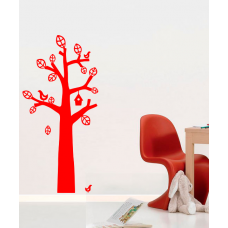 Дерево и птички