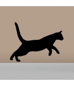 Стікер Стрибаюча Кішка