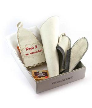 Подарочный банный набор для сауны, 78213