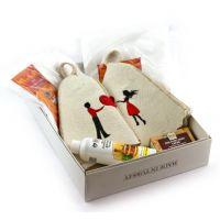 Подарочный банный набор для сауны, 78224