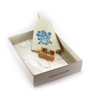 Подарунковий набір для бані, сауни, 78267