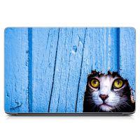 Виниловый стикер для ноутбука Кот Матовый