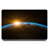 """Універсальна наклейка для ноутбука, 13.3""""-17.3"""" 400x260 мм Космічне сяйво Матовий"""