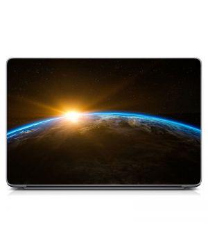 """Универсальная наклейка для ноутбука, 13.3""""-17.3"""" 400x260 мм Космическое сияние Матовый"""
