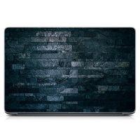 """Універсальна наклейка для ноутбука 15.6""""-13.3"""" Кам'яна кладка Матовий 380х250 мм"""