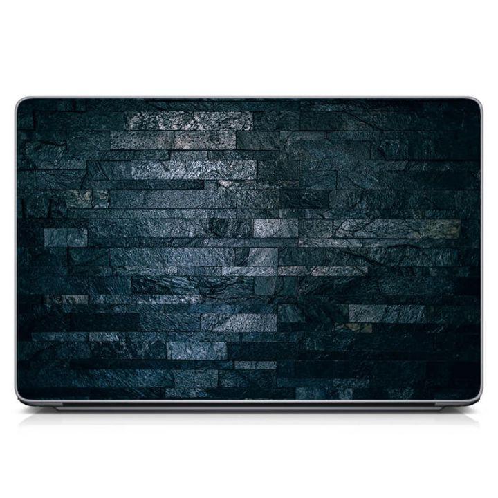 "Универсальная наклейка на ноутбук 15.6""-13.3"" Каменная кладка Матовый 380х250 мм"