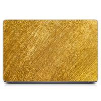 Стикер на ноутбук Золото Матовый