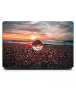 """Универсальная наклейка для ноутбука, 13.3""""-17.3"""" 400x260 мм Капелька воды Матовый"""