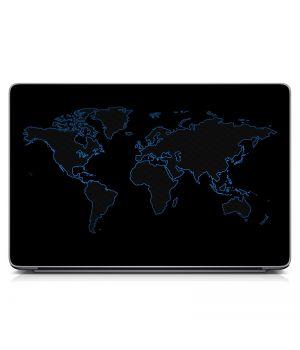 """Наклейка на ноутбук 15.6"""" Map Матовая 380х250 мм"""