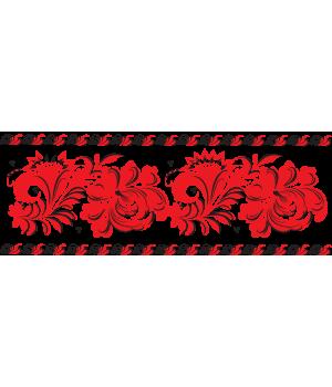 100х20 см, Вышиванка Цветы 17