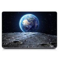 Виниловый стикер для ноутбука Космос, композиция Матовый