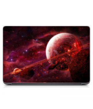 "Универсальная наклейка на ноутбук 15.6""-13.3"" Загадочная планета Матовый 380х250 мм"