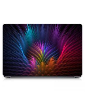 """Універсальна наклейка для ноутбука 15.6""""-13.3"""" Різнобарвна абстракція Матовий 380х250 мм"""