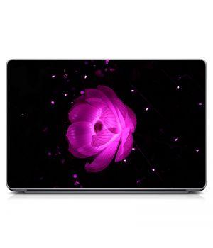Стикер на ноутбук Фиолетовый цветок Матовый